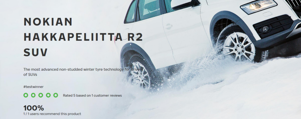 SUV winter tyres